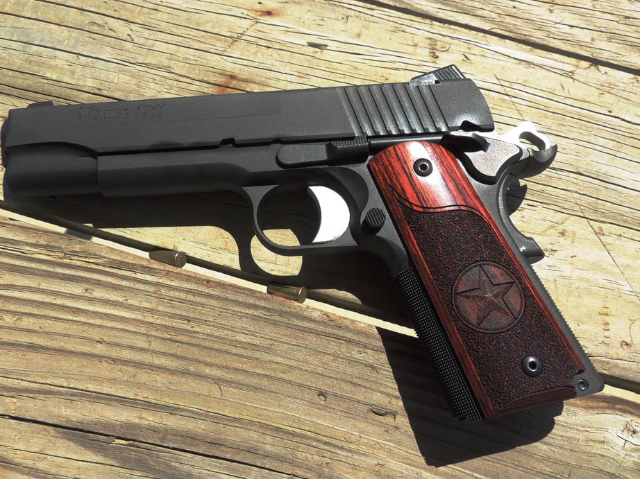The SIG 1911 Texas handgun edition