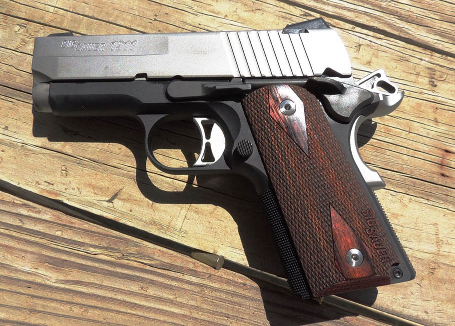 What's better than a SIG 1911? How about three of them