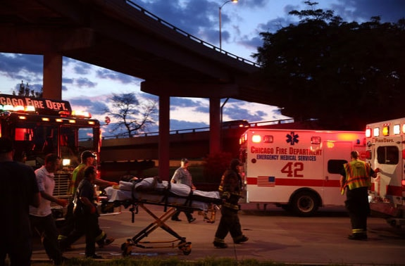 As Chicago experienced one of its most bloody weekends yet, at least of the shootings appeared to be in self-defense. (Photo credit: Chicago Tribune)