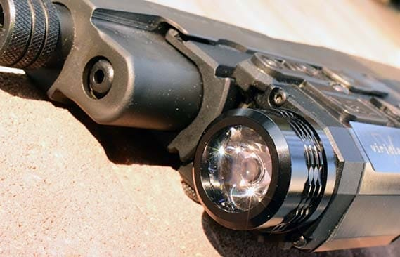 While Viridian is known for its lasers, their tac-lights are equally as impressive (Photo by Jim Grant)