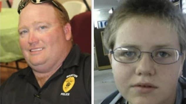 cop shoots kid