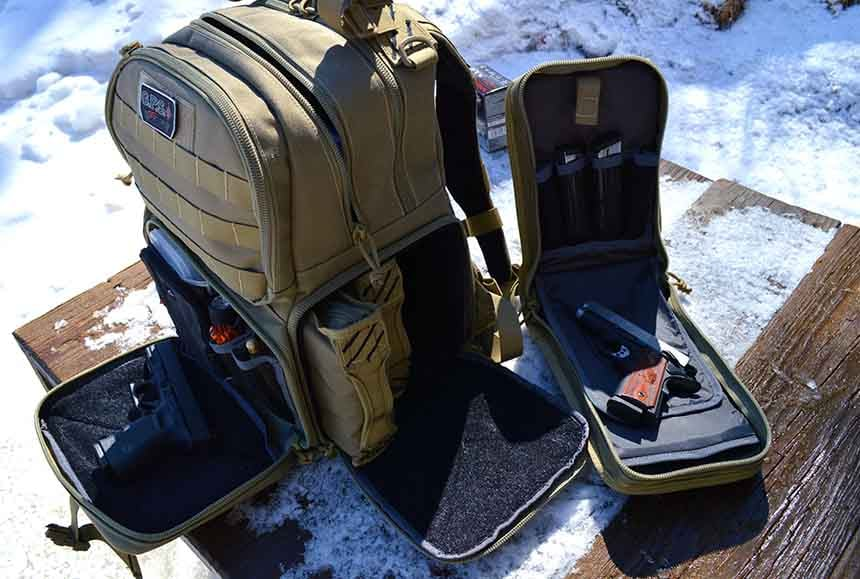 Backpacks are a godsend when you need to carry heavy equipment and keep both hands free (Photo by Kristin Alberts)