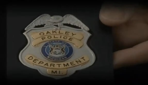 The small town of Oakley has one reserve officer for every three residents. (Photo credit: WNEM)