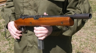The World War II-era Reising Model 50 submachine gun is worth upwards of $6,500. A decent sum for the small town of Macon, Mississippi.