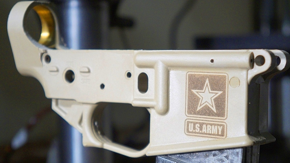 tennessee arms lower polymer laser engraved