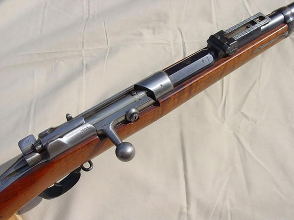1888 Mauser rifle marked 71/84 on the US market