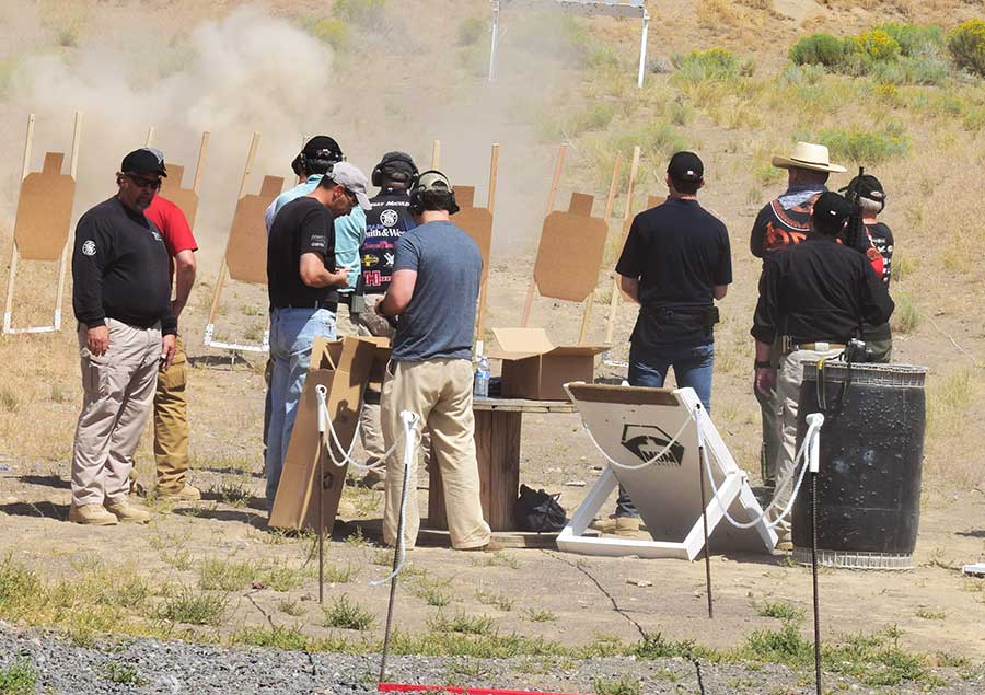One great way to motivate yourself to shoot more often, is to compete with a group of friends or like-minded individuals (Photo: Jim Grant)