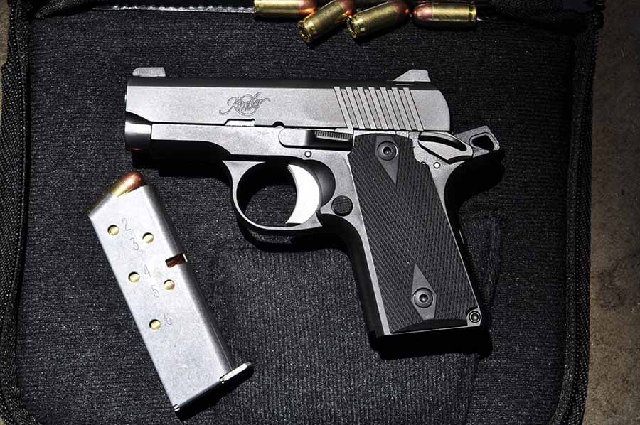 The Kimber Micro Carry in case