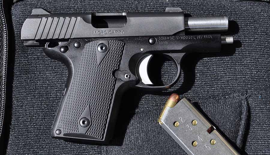 Kimber Micro Carry with magazine