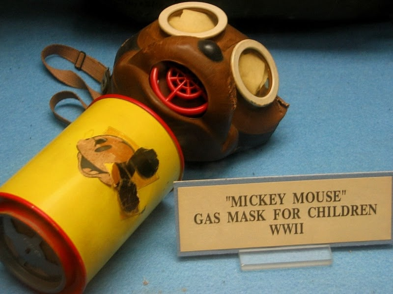 Mickey Mouse Gas Masks for Children from WWII (1)