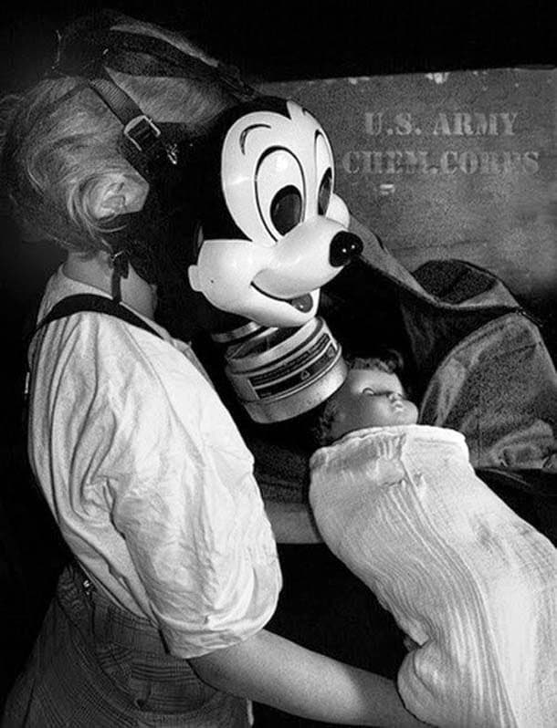 Mickey Mouse Gas Masks for Children from WWII (6)