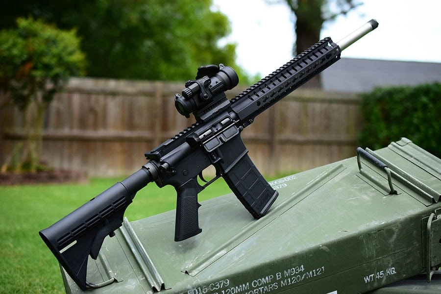 CMMG's Mk4 HT rifle doubles as both a defensive carbine and target rifle (Photo: Jim Grant)
