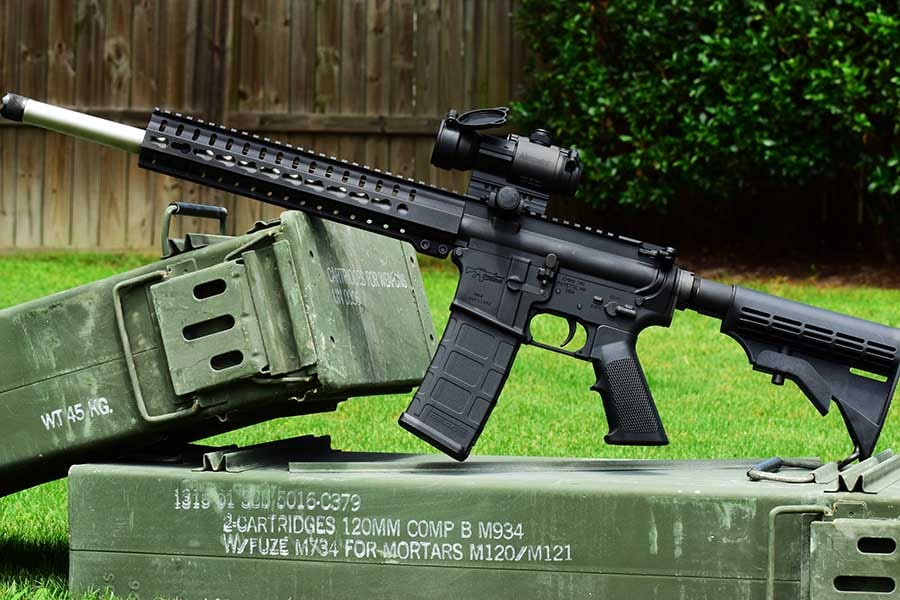 CMMG makes beautiful rifles, and the Mk4 HT is no exception (Photo: Jim Grant)