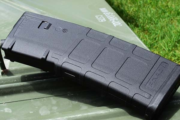 The Mk4 might not include Magpul furniture but it does ship with a Gen 3 PMag (Photo: Jim Grant)