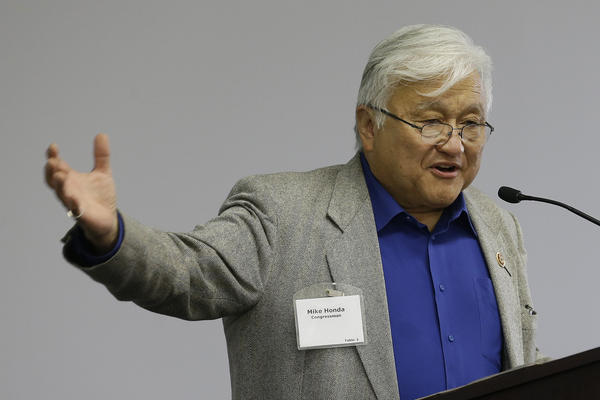 Rep. Mike Honda, (D-CA), wants to ban the sale of certain kinds of body armor to civilians. (Photo: LA Times)