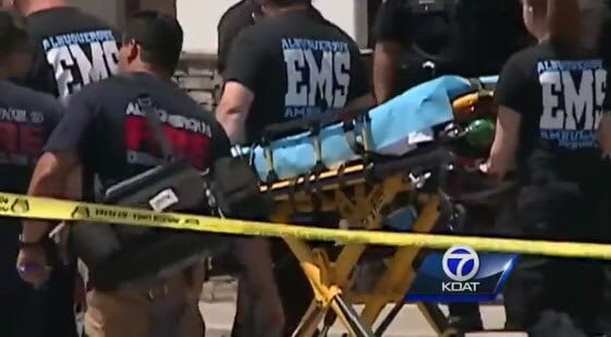 Police said they have tentatively identified the suspect, but the medical examiner's report will help to positively identify him. The next of kin has not been contacted. (Photo: KOAT)