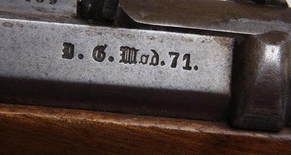 Mauser 71 Gothic script