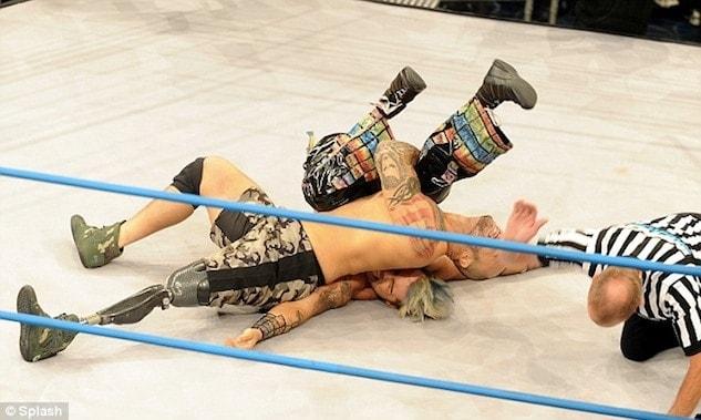 war vet impact wrestling
