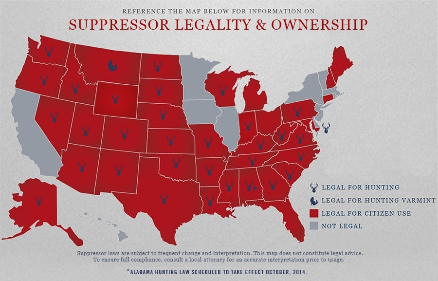 florida suppressor legality and ownership