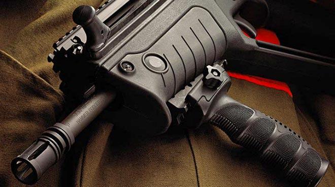 A Tavor with the IWI Ergo pistol grip. (Photo: IWI-US)