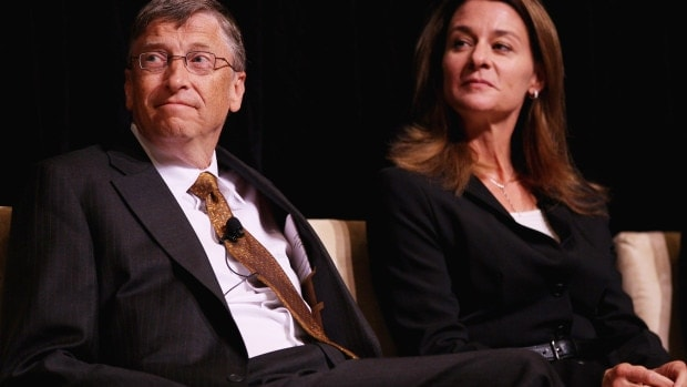 Bill And Melinda Gates Awarded Fulbright Prize For Int'l Understanding
