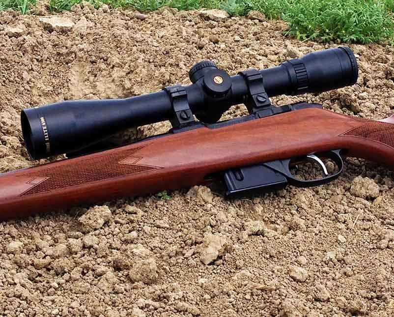 The Elite 6500 on the cz american rifle