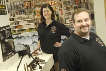 Steve King of Metro Guns said he can see the fear in people's eyes who have come into his store this week. (Photo: St. Louis Business Journal)