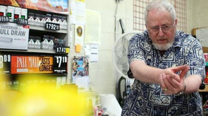 """""""I didn't get up in the morning to take somebody's life,"""" said the store owner. """"I'm glad I didn't have to, but it came that close."""" (Photo: Fox)"""