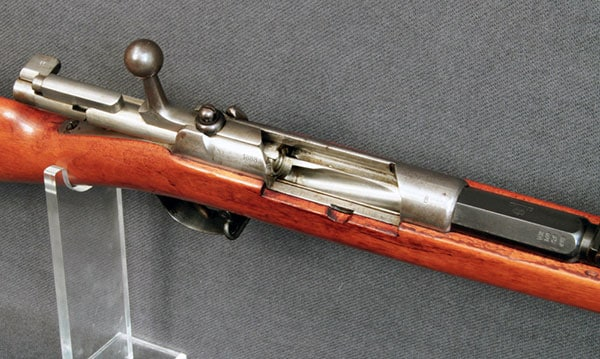 The M71/84 with bolt open