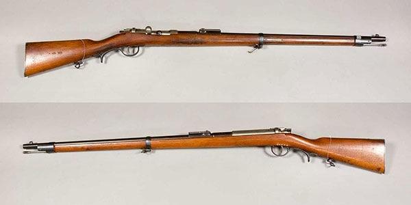 Mauser M71 single shot rifle