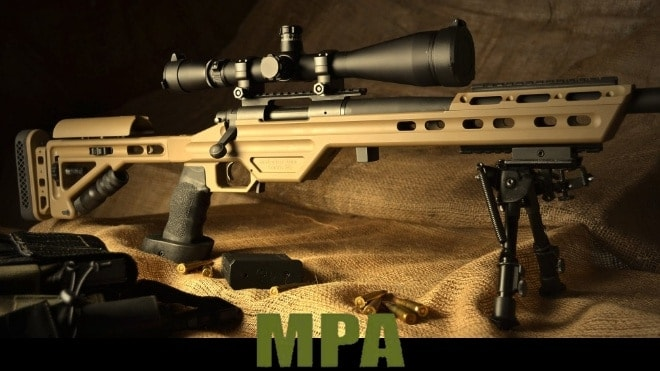 mpa 700 rifles in 6 and 6.5 mm