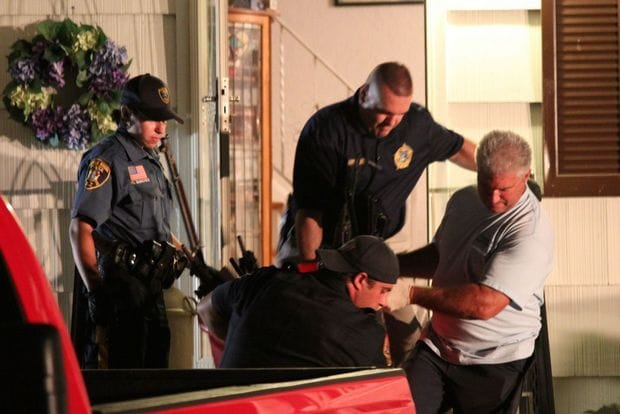 Officers removed Lintner's guns in trashcans after cracking his safes. (Photo: NJ.com)