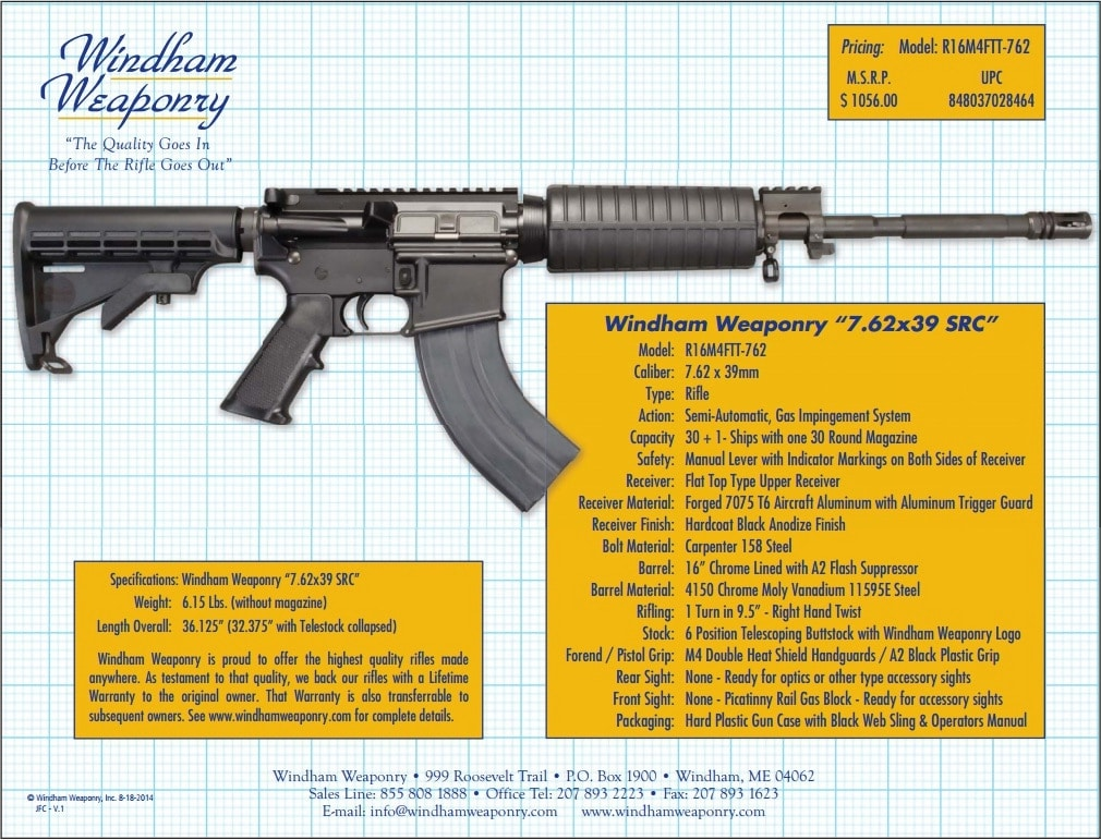 windham weaponry 7.62x39 src