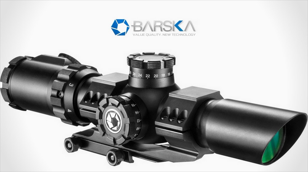 1-6x32 IR SWAT-AR Rifle Scope