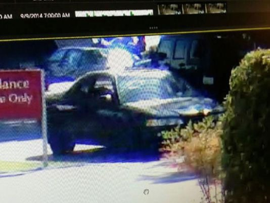 Authorities did not get a good description of the woman driving the getaway car, but they said the car stood out because of its very sloppily painted rear spoiler. (Photo: King5)