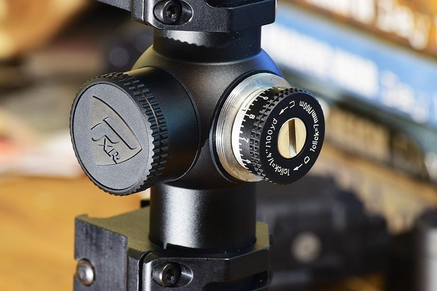 The Nikon scope features a quarter inch adjustable reticle for precise zeroing (Photo: Jim Grant)
