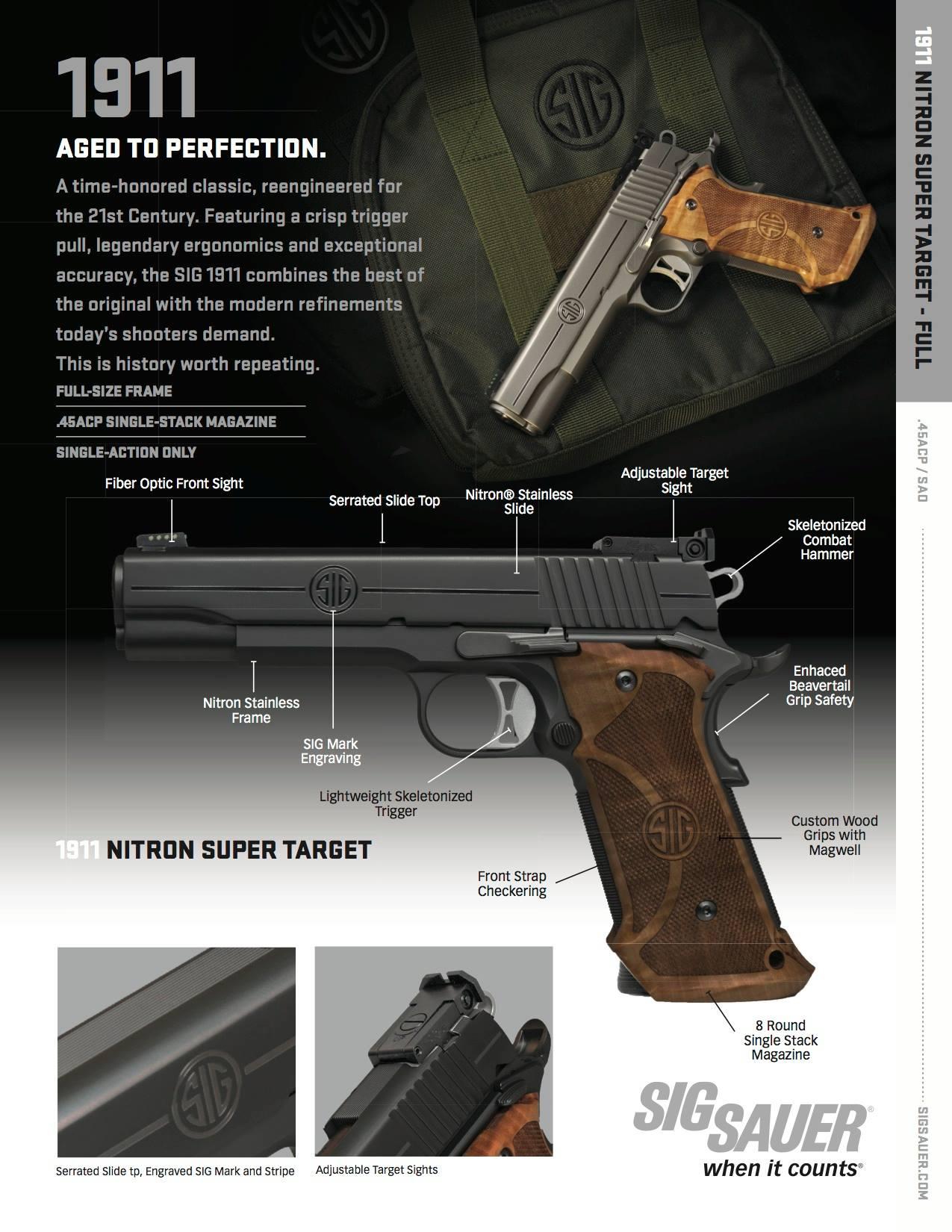 SIG Sauer 1911 Super Target