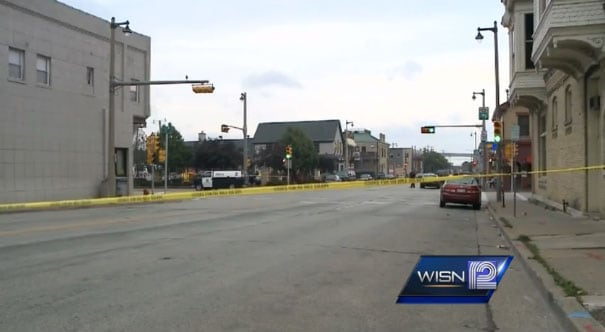 Alderman Jose Perez said the workers left together in a group, just as they should have to deter a crime from happening, but it was just bad timing. (Photo: WISN)