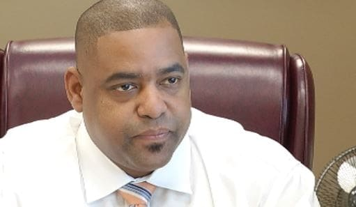 Richmond County Sheriff Richard Roundtree, elected in 2012, is the defendant in a lawsuit filed by a gun rights group over a 10-day waiting period on used guns in the county. (Photo: NBC26)