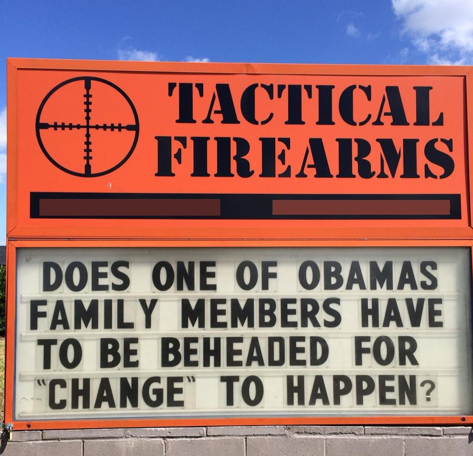 tactical firearms sign