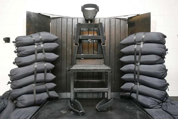 Utah has carried out 40 executions by firing squad, the last in 2010. (Photo: Times of London https://www.thetimes.co.uk/tto/news/world/americas/article3979396.ece)