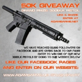 Click here to enter. (Photo: Adams Arms)