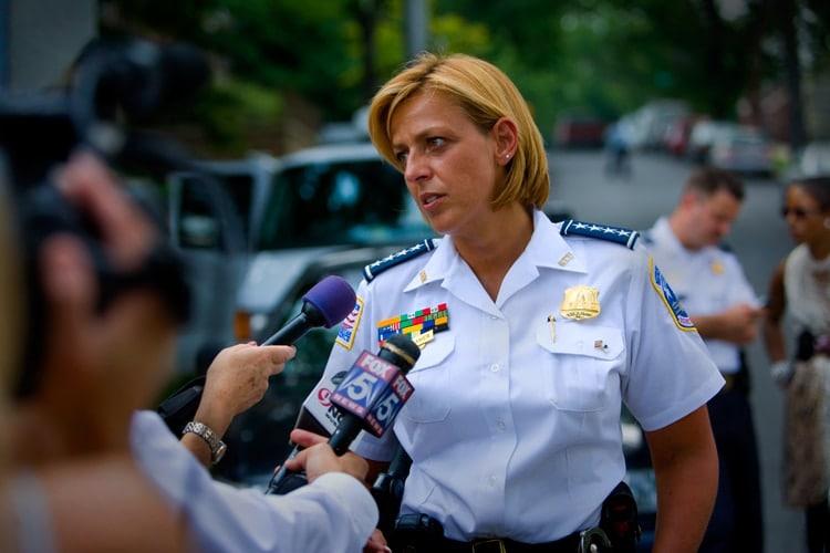 Washington Metro Police Chief Cathy Lanier (Photo: Fox 5)