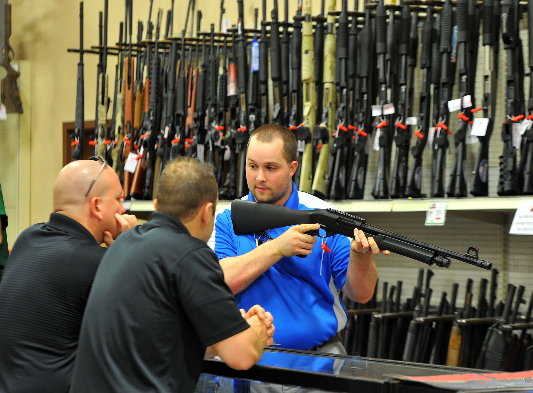 Gun shops across Mississippi expect to be busy this weekend due to the first annual Second Amendment sales tax holiday. (Photo: Brand Sanderlin)