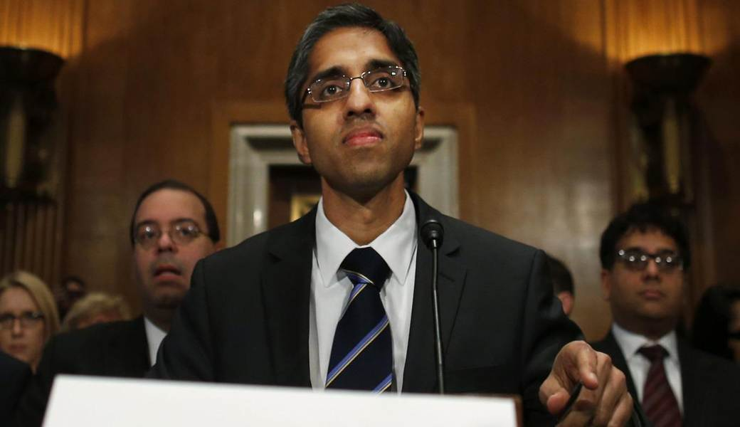 """Vivek Murthy was nominated by President Obama for the post of United States Surgeon General in November 2013.  Murthy has come under attack for his relative youth, his support for an assault weapons ban and a Twitter posting in October 2012 when he wrote, """"Guns are a health care issue."""""""
