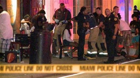 The youngest of the 15 gunshot victims present in the nightclub was an 11-year-old girl. (Photo: AP)