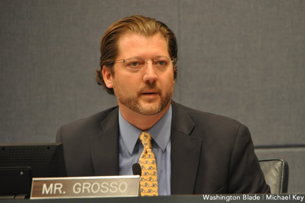 D.C. Councilman David Grosso would like it if fewer guns were in the city, police included. (Photo: Michael Key/Washington Blade)