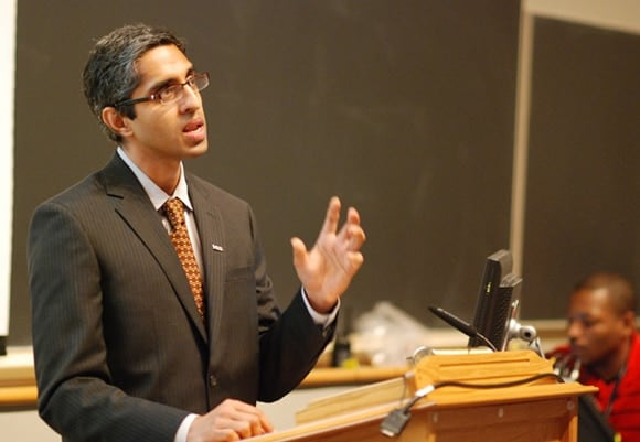 Surgeon General nominee Vivek Murthy has had his appointment on hold for nearly a year over anti-gun comments. (Photo: Yale.edu)