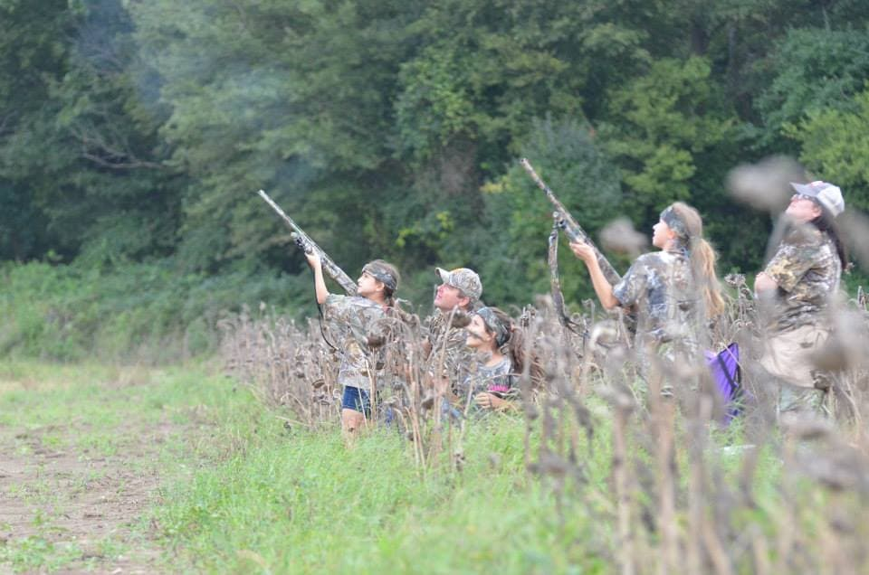 The Mahannah WMA Youth Dove Hunt in which 76 Mississippi hunters under age 16 harvested 217 birds (Photo: MDWFP)