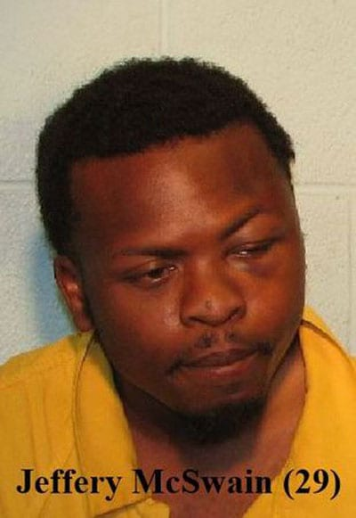 Jeffery McSwain, Jr. was charged with assault with intent to commit sexual penetration. (Photo: Michigan Live)